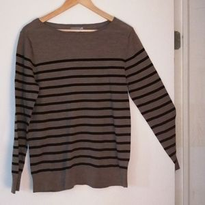 Stripped sweater size x large